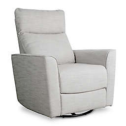Baby Appleseed® Crosby Comfort Swivel Glider in Grey