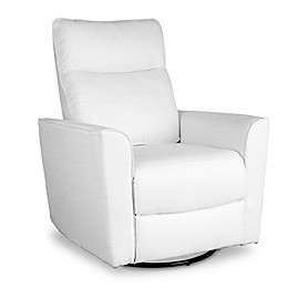 Baby Appleseed® Crosby Comfort Swivel Glider in White