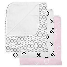 kushies® Cotton Flannel Reversible Crib Blanket