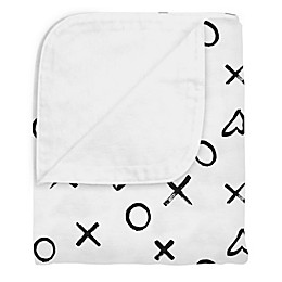 kushies® Cotton Flannel Reversible Crib Blanket
