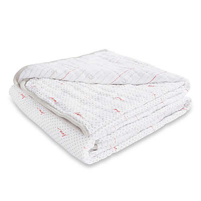 ED Ellen DeGeneres crafted by aden + anais ® Iconic Muslin Blanket in Brown/Red