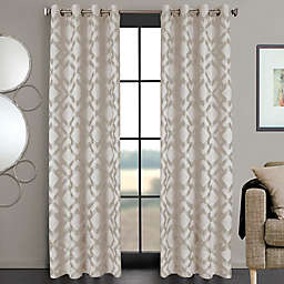 Ryder 84-Inch Grommet Window Curtain Panel in Ivory