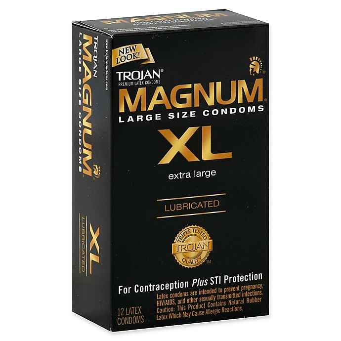 6067c9f955 Trojan® Magnum XL 12-Count Premium Latex Lubricated Condoms