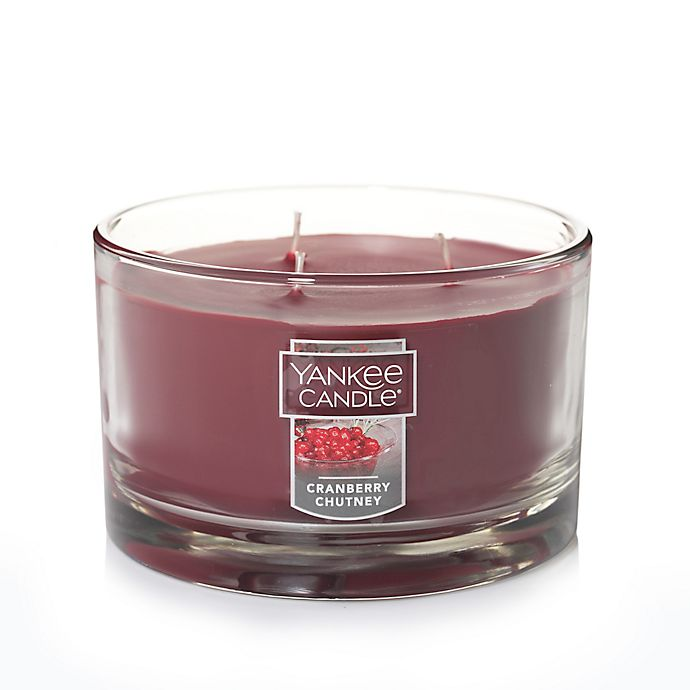 Yankee Candle® Cranberry Chutney 3 Wick Candle | Bed Bath ...
