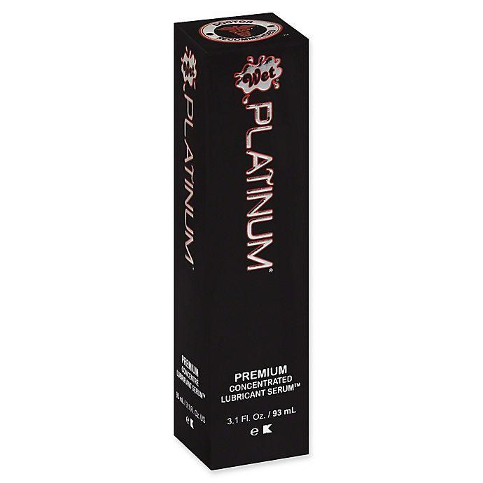 Alternate image 1 for Wet Platinum 3.1 fl. oz. Premium Concentrated Lubricant Serum