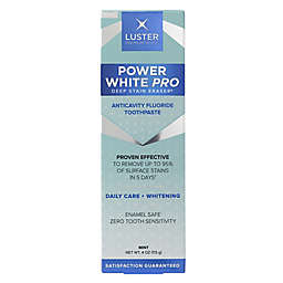 Luster Premium White® Now! 4 oz. Instant Whitening Fluoride Toothpaste in Happy Mint Flavor