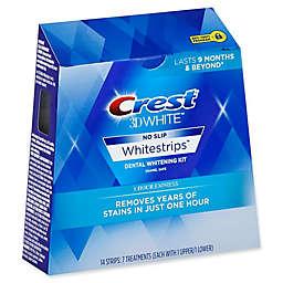 Crest® 3D White™ No-Slip Whitestrips™ 1 Hour Express Dental Whitening Kit
