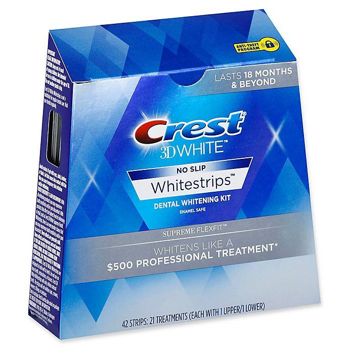 Alternate image 1 for Crest® 3D White™ No-Slip Whitestrips™ Supreme Flexfit Dental Whitening Kit