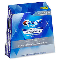 Crest® 3D White™ No-Slip Whitestrips™ Supreme Flexfit Dental Whitening Kit