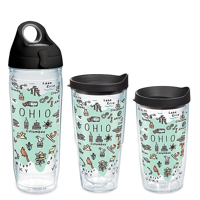 Alternate image 1 for Tervis® My Place Ohio Wrap Drinkware with Lid