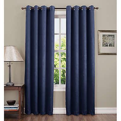 Sun Zero Hoffman Grommet Top Room Darkening Window Curtain Panel