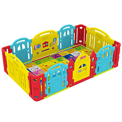 Dwinguler Large Kid's Castle Playpen
