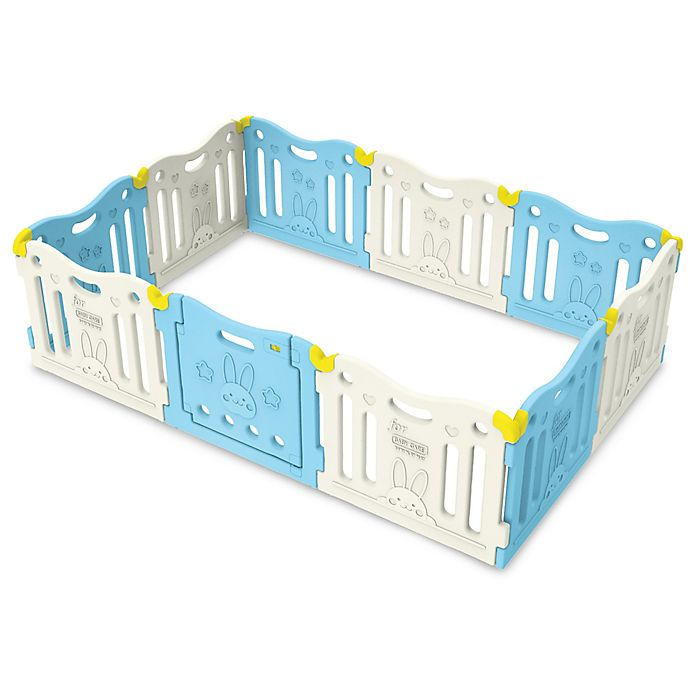 Alternate image 1 for BABY CARE™ Funzone Baby Play Pen in Sky Blue