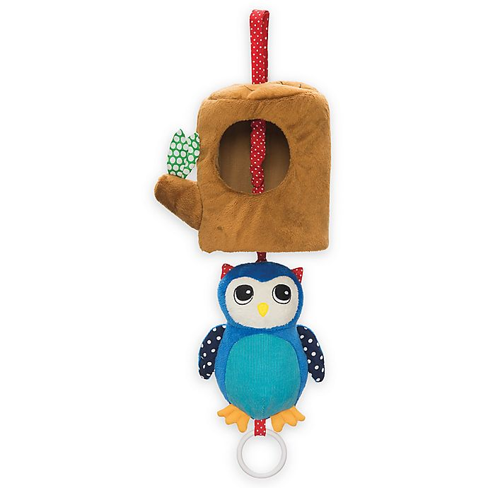 Alternate image 1 for Manhattan Toy Lullaby Owl Musical Pull Toy