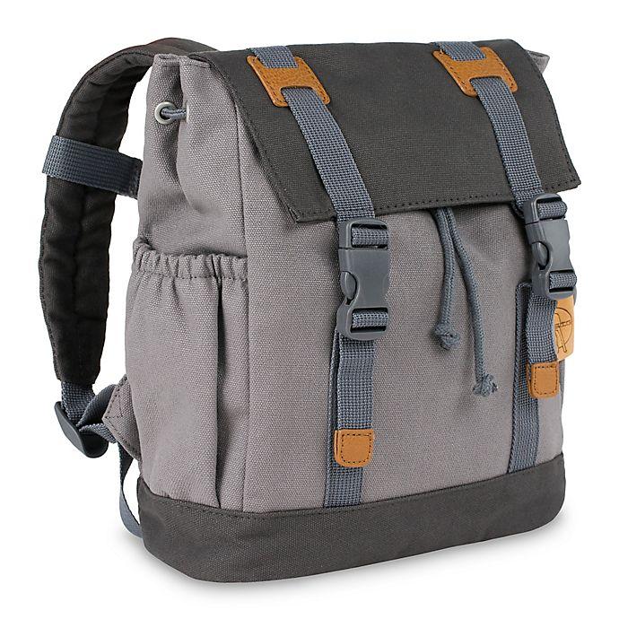 Alternate image 1 for Lassig Little One & Me Backpack in Grey