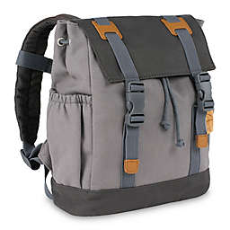 Lassig Little One & Me Backpack in Grey