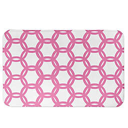 Designs Direct Preppy Locking Circles Bath Mat
