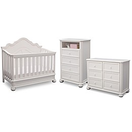 Simmons Kids® Peyton Nursery Furniture Collection in Antique White
