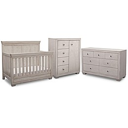 Simmons Kids® Ravello Nursery Furniture Collection in Antique White