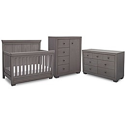 Simmons Kids® Ravello Nursery Furniture Collection in Storm