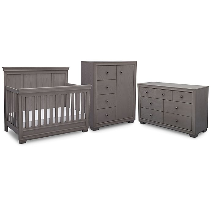 Simmons Kids Ravello Nursery Furniture Collection In Storm