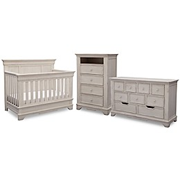 Simmons Kids® Tivoli Nursery Furniture Collection in Antique White