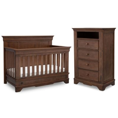 Simmons Kids Tivoli Nursery Furniture Collection In Antique