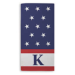 Red, White, and Blue Beach Towel