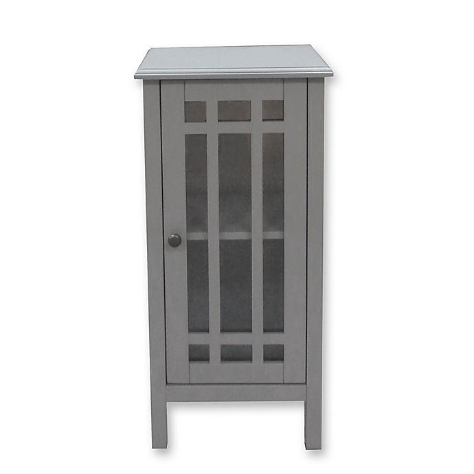Bathroom Floor Cabinet With Gl Door