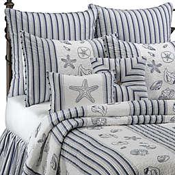 Seaside Stripe Quilt, 100% Cotton