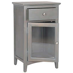 Safavieh Ziva End Table in French Grey