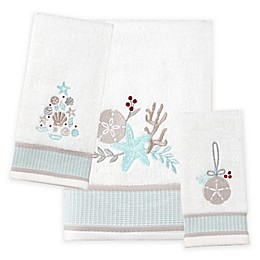 Saturday Knight Coastal Christmas Bath Towel Collection