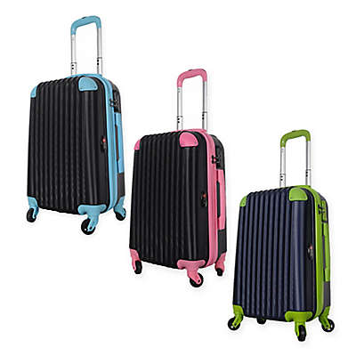 Brio 2-Tone 22-Inch Hardside Spinner Carry On