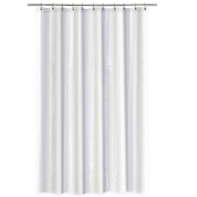 Alternate image 1 for SALT Heavy Gauge PEVA 70-Inch x 72-Inch Shower Curtain Liner in White