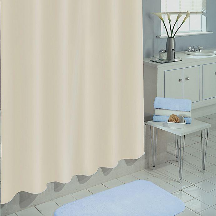 Alternate image 1 for SALT PEVA 72-Inch x 70-Inch Shower Curtain Liner in Ivory