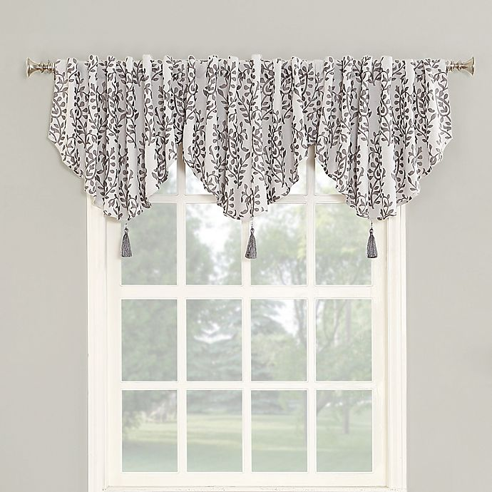 Buy Roselia 24-Inch Back Tab Room Darkening Window Valance