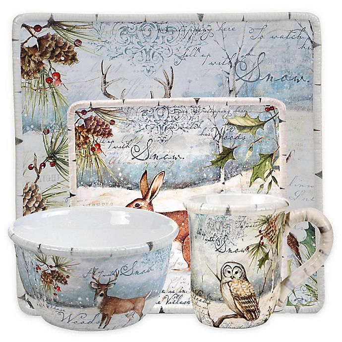 Alternate image 1 for Certified International Winter Lodge Dinnerware Collection