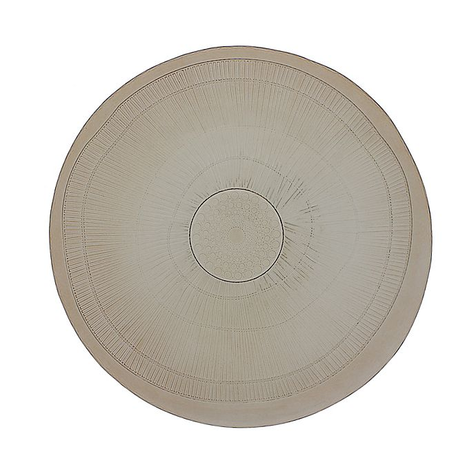 Alternate image 1 for French Home Birch Dinner Plates in Mocha (Set of 4)