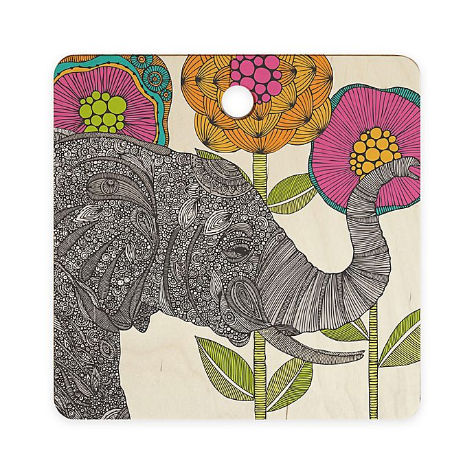 Alternate image 1 for Deny Designs Valentina Ramos Aaron Square Cutting Board