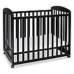 DaVinci Alpha Mini Rocking Crib in Black