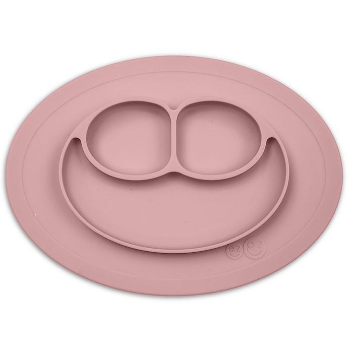 Alternate image 1 for ezpz™ Mini Happy Mat Placemat in Blush