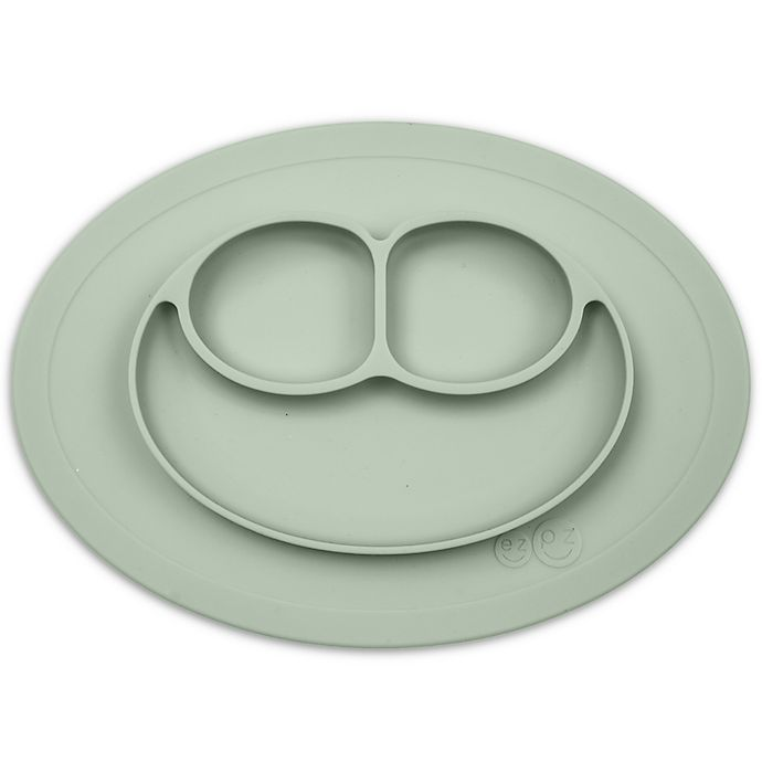 Alternate image 1 for ezpz Mini Happy Mat Placemat in Sage