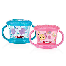 Nuby™ Snack Keeper in Pink/Aqua