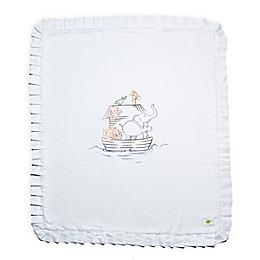 Live Good™ Organic Supima® Noah's Ark Cotton Baby Blanket