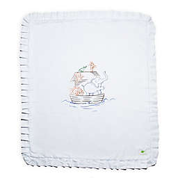 Live Good™ Organic Supima® Noah's Ark Cotton Baby Blanket