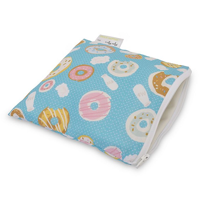 Alternate image 1 for Itzy Ritzy® Snack Happens™ Reusable Snack & Everything Bag in Donuts