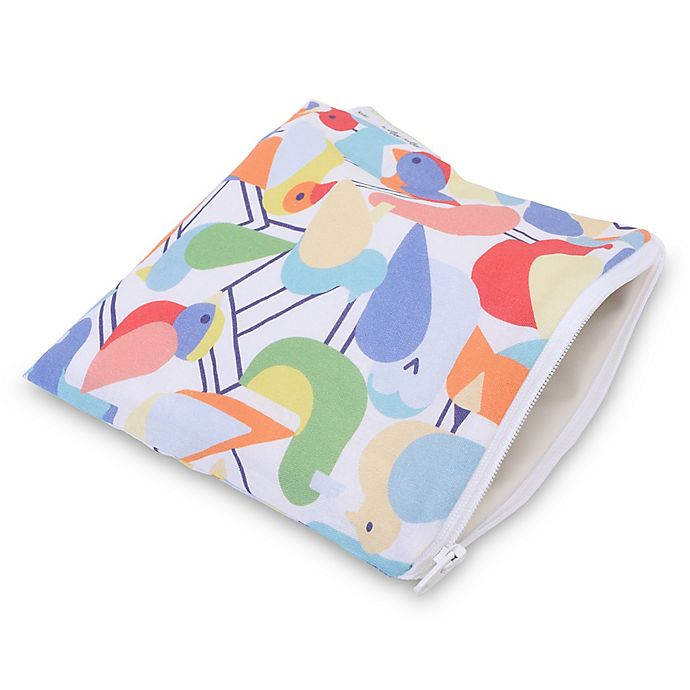 Alternate image 1 for Itzy Ritzy® Snack Happens™ Reusable Snack & Everything Bag in Robin Hood
