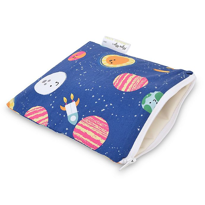 Alternate image 1 for Itzy Ritzy® Snack Happens™ Reusable Snack & Everything Bag in Interstellar
