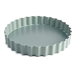 Jamie Oliver Carbon Steel 10-Inch Round Tart Pan in Blue