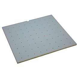 Rev-A-Shelf Wood with Grey Vinyl Lining Peg Board Drawer Insert